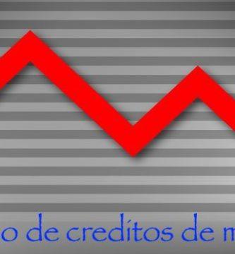 Disminucion creditos de morosos