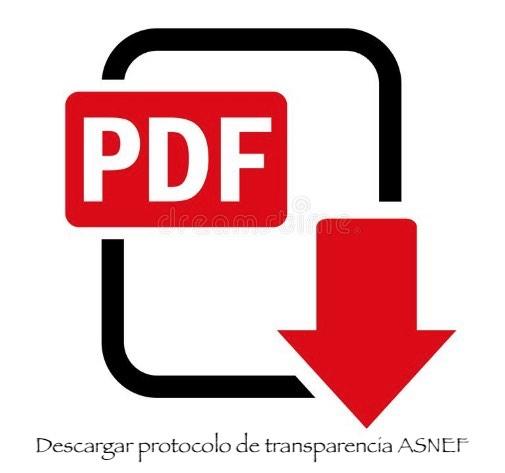 Asnef protocolo de transparencia pdf